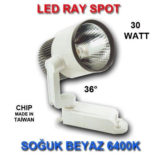 ray spot led 30 watt so uk beyaz stanbul led ayd nlatma. Black Bedroom Furniture Sets. Home Design Ideas
