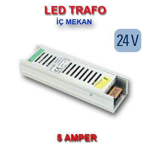 led trafo 24 volt 5 amper mekan stanbul led ayd nlatma. Black Bedroom Furniture Sets. Home Design Ideas